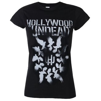 t-shirt metal donna Hollywood Undead - DOVE GRENADE SPIRAL - PLASTIC HEAD, PLASTIC HEAD, Hollywood Undead