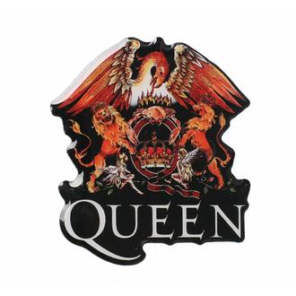 Targhetta QUEEN - CREST - RAZAMATAZ, RAZAMATAZ, Queen