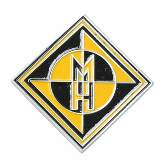 targhetta MACHINE HEAD - DIAMOND LOGO - RAZAMATAZ, RAZAMATAZ, Machine Head