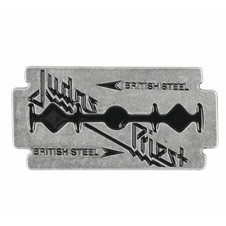 Targhetta JUDAS PRIEST - BRITISH STEEL - RAZAMATAZ, RAZAMATAZ, Judas Priest