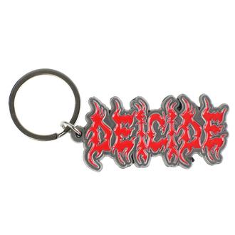 Portachiavi ad anelloChiave anello (pendente) Deicide - Logo - RAZAMATAZ, RAZAMATAZ, Deicide