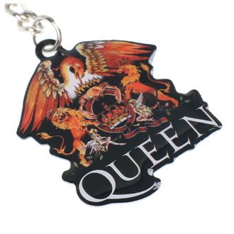 Portachiavi ad anello (pendente) Queen - Crest - RAZAMATAZ, RAZAMATAZ, Queen