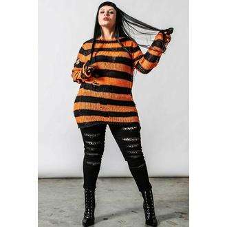 Maglione unisex KILLSTAR - Pumpkin Knit - Nero / Arancione, KILLSTAR