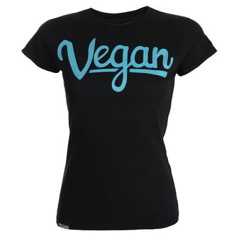 t-shirt donna - Vegan Letters - COLLECTIVE COLLAPSE