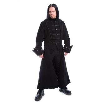 Cappotto da uomo POIZEN INDUSTRIES - QUENTIN - NERO VELLUTO, POIZEN INDUSTRIES