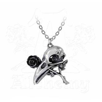 collana con pendente ALCHEMY GOTHIC - Quietus Rose, ALCHEMY GOTHIC