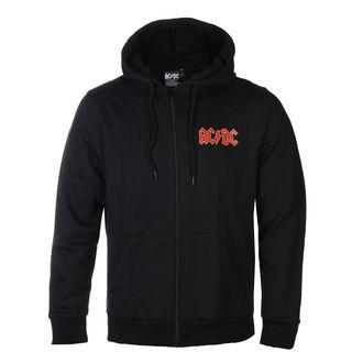 felpa con capuccio uomo AC-DC - Logo - ROCK OFF, ROCK OFF, AC-DC