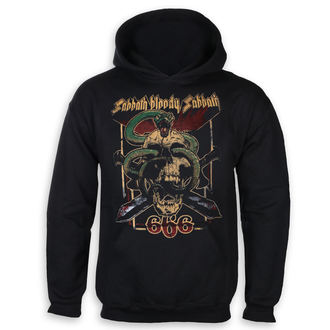 felpa con capuccio uomo Black Sabbath - Bloody Sabbath 666 - ROCK OFF, ROCK OFF, Black Sabbath