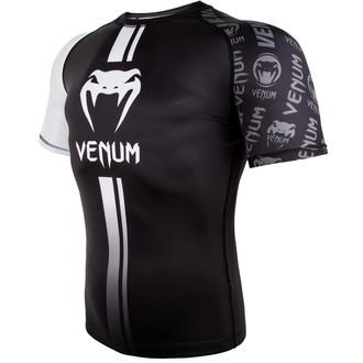 Maglietta termica(rashguard) Venum - Logos Rashguard - Nero / bianca, VENUM