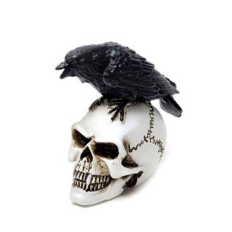 Decorazione ALCHEMY GOTHIC - Raven Skull, ALCHEMY GOTHIC