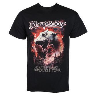 t-shirt metal uomo Rhapsody - DRAGON HEAD - RAZAMATAZ, RAZAMATAZ, Rhapsody