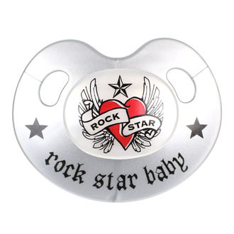 Pacificatore ROCK STAR BABY - Heart & Wings, ROCK STAR BABY