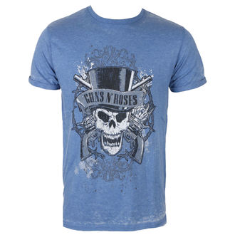 t-shirt metal uomo Guns N' Roses - Faded Skull - ROCK OFF, ROCK OFF, Guns N' Roses