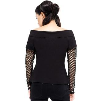 Maglietta da donna a maniche lunghe KILLSTAR - Rebelle Fishnet, KILLSTAR