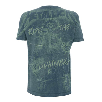 t-shirt metal uomo Metallica - Ride The Lightening A/O -, Metallica