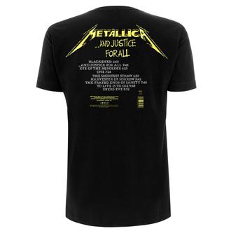 t-shirt metal uomo Metallica - And Justice For All Tracks - NNM, NNM, Metallica