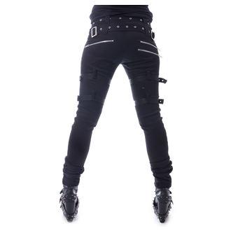 pantaloni da donna  HEARTLESS - RESTRICTION - NERO, HEARTLESS