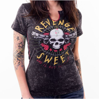 t-shirt hardcore donna - ANGEL REVENGE IS SWEET - LETHAL THREAT, LETHAL THREAT