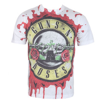 t-shirt metal uomo Guns N' Roses - Blood Drip - ROCK OFF, ROCK OFF, Guns N' Roses