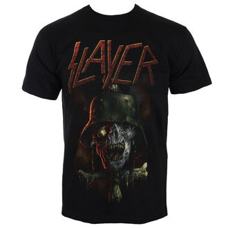 t-shirt metal uomo Slayer - SOLDIER CROSS 2014 DATEBACK - ROCK OFF, ROCK OFF, Slayer