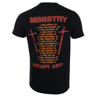 t-shirt metal uomo Ministry - Hot Rod - ROCK OFF, ROCK OFF, Ministry