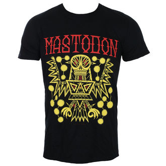 t-shirt metal uomo Mastodon - TRIBAL DEMON 2017 EVENT BACK BLACK - ROCK OFF, ROCK OFF, Mastodon