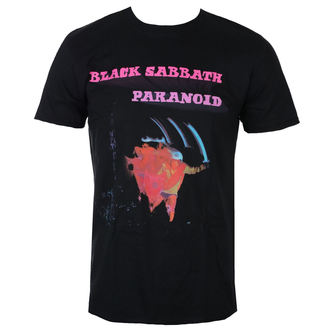 t-shirt metal uomo Black Sabbath - Paranoid Motion Trails - ROCK OFF, ROCK OFF, Black Sabbath