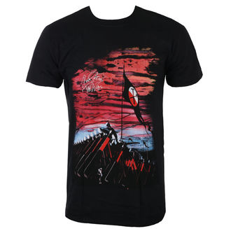 t-shirt metal uomo Pink Floyd - The Wall Flag & Hammers - ROCK OFF, ROCK OFF, Pink Floyd
