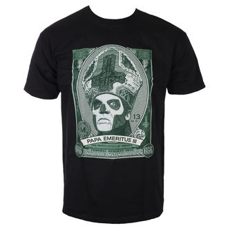 t-shirt metal uomo Ghost - Papa Cash - ROCK OFF, ROCK OFF, Ghost