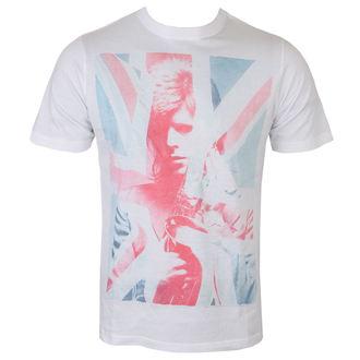 Maglietta David Bowie - Union Jack and Sax Sublimation - bianca - ROCK OFF, ROCK OFF, David Bowie