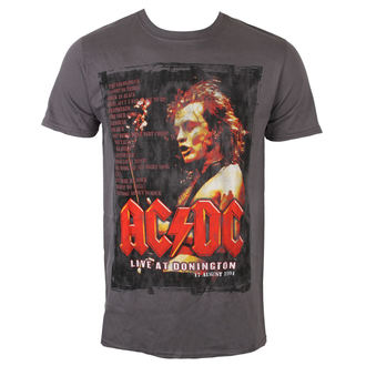 t-shirt metal uomo AC-DC - Donington Set List - ROCK OFF, ROCK OFF, AC-DC