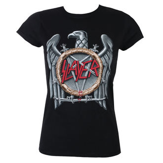 t-shirt metal donna Slayer - Silver Eagle - ROCK OFF, ROCK OFF, Slayer