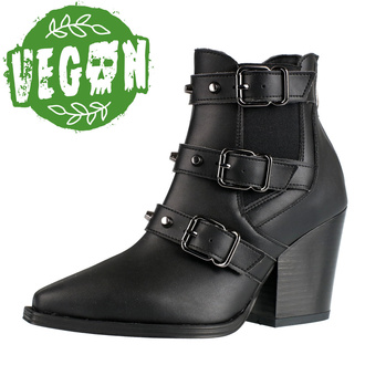 Stivali da donna ALTERCORE - Amasha - Vegano Nero, ALTERCORE