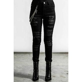 Pantaloni da donna KILLSTAR - RIP. Slash - Nero, KILLSTAR