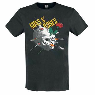 maglietta da uomo Guns N' Roses - L'AGO TESCHIO - CARBONE - AMPLIFIED, AMPLIFIED, Guns N' Roses