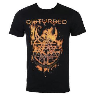 t-shirt metal uomo Disturbed - Burning Belief - ROCK OFF, ROCK OFF, Disturbed