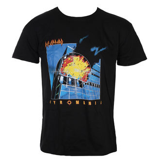 t-shirt metal uomo Def Leppard - Union Jack - LIVE NATION
