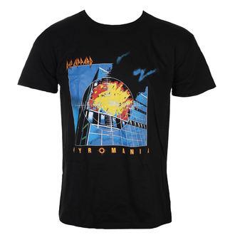 t-shirt metal uomo Def Leppard - Pyromania - ROCK OFF, ROCK OFF, Def Leppard