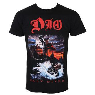 t-shirt metal uomo Dio - Holy Diver - ROCK OFF, ROCK OFF, Dio