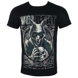 t-shirt metal uomo Volbeat - Goat With Skull - ROCK OFF, ROCK OFF, Volbeat