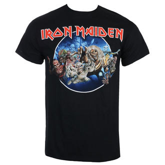 Maglietta Uomo Iron Maiden - Wasted Years - Nero - ROCK OFF, ROCK OFF, Iron Maiden