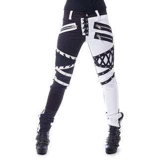 pantaloni da donna VIXXSIN - ROCKSTAR - NERO / BIANCA, VIXXSIN