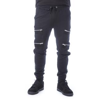 Pantaloni da uomo (sportivi) CHEMICAL BLACK - ROMEO - NERO, CHEMICAL BLACK