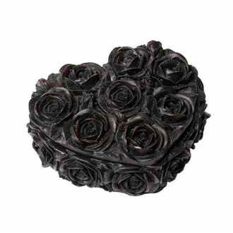 Decorazione (scatola) ALCHEMY GOTHIC - Rose Heart - Nero, ALCHEMY GOTHIC