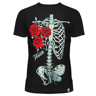 t-shirt donna - ROSE RIB - VIXXSIN, VIXXSIN
