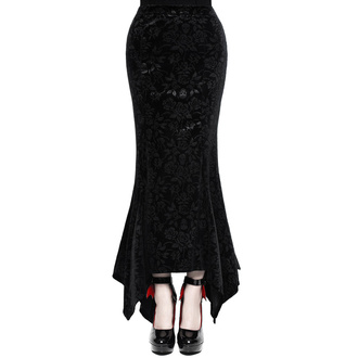 Gonna da donna KILLSTAR - Roses Are Dead Velvet Maxi - NERO, KILLSTAR
