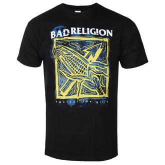 Maglietta da uomo Bad Religion - Against The Grain - Nero - KINGS ROAD, KINGS ROAD, Bad Religion