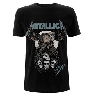 Maglietta da uomo Metallica - S&M2 Skulls - Nero, NNM, Metallica