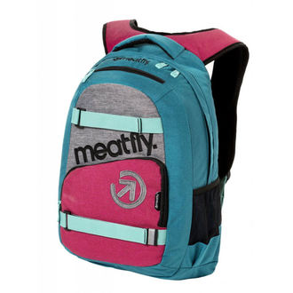 Zaino MEATFLY - EXILE 3 J - Ht.Turquoise / Ht.Rose, MEATFLY