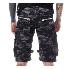 pantaloncini Uomo Heartless - ARVID - GRIGIO CAMO, HEARTLESS